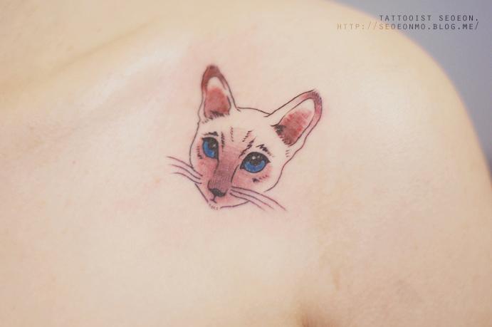 minimalistické tetovania
