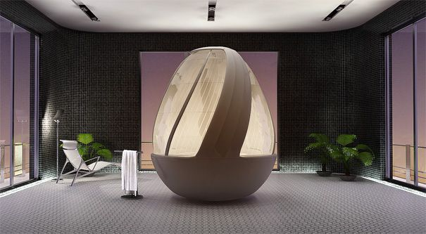Futuristicky až sci-fi vyzerajúce kúpelne (1)