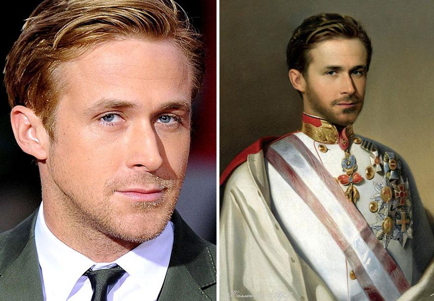 celebrity na historických obrazoch (11)