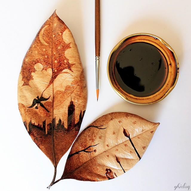 coffee-painting-leaf-grounds-ghidaq-al-nizar-coffeetopia-42