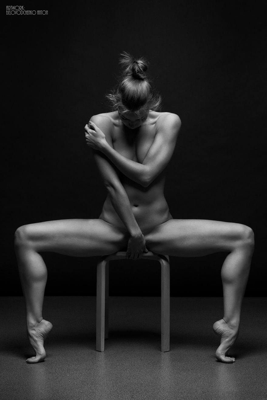 ciernobiele joga pozy (14)