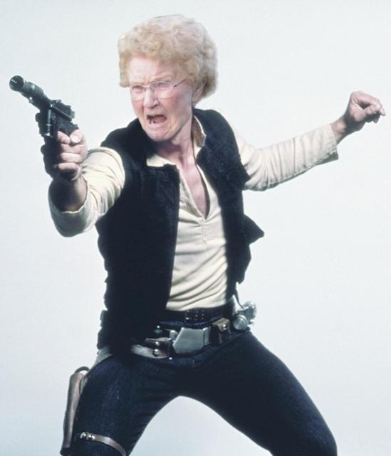 babka so striekacou pištoľou (3)