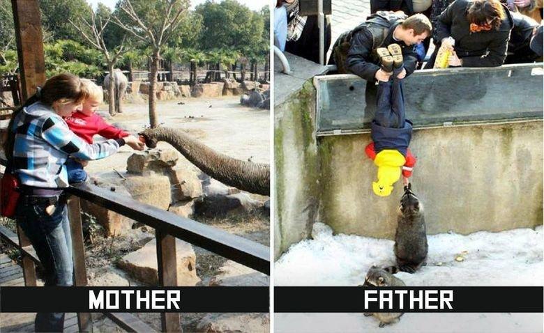 rozdiely medzi tatkami a mamkami (2)