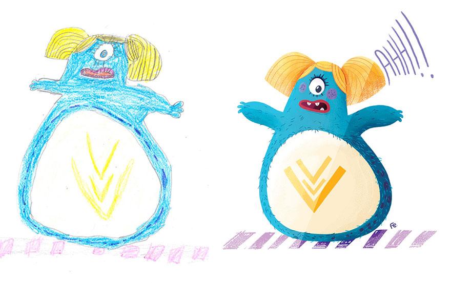 strašidelné kresby detí(7)