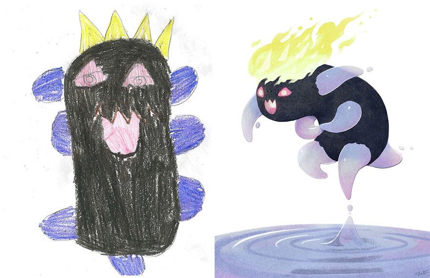 strašidelné kresby detí (9)