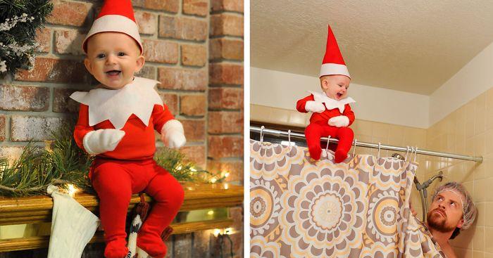 chlapček sa stal vianočným trpaslíkom (11)