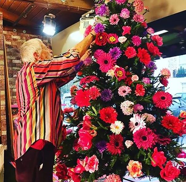 vianocne stromceky s kvetmi (11)