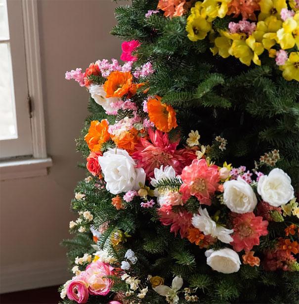 vianocne stromceky s kvetmi (3)