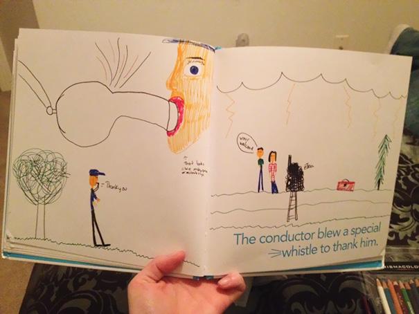 nevhodne kresby deti (1)