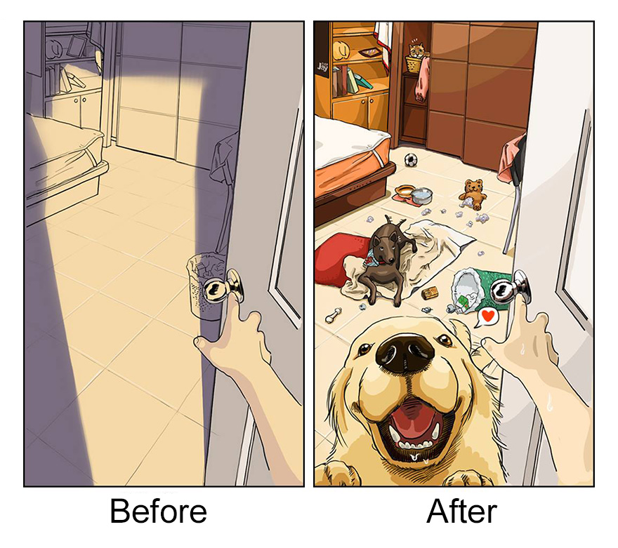 pred a po vlastneni psa (1)