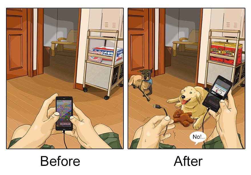 pred a po vlastneni psa (5)