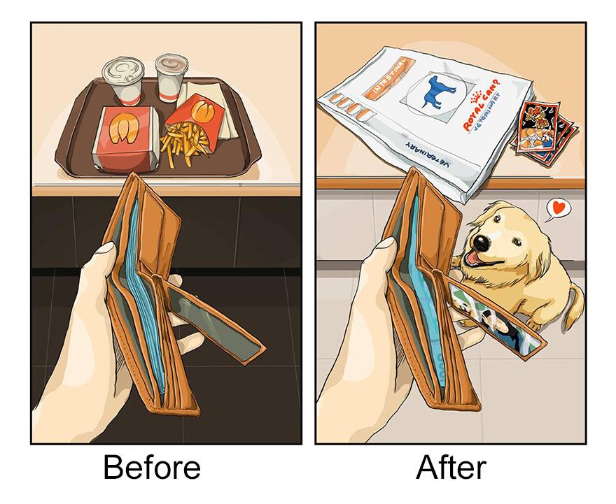 pred a po vlastneni psa (8)