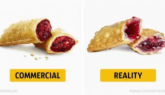 Reklama a realita – takto vyzerajú jedlá z fast foodu naozaj