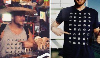 Toto tričko cestovateľa musíte mať, dohovoríte sa všade!