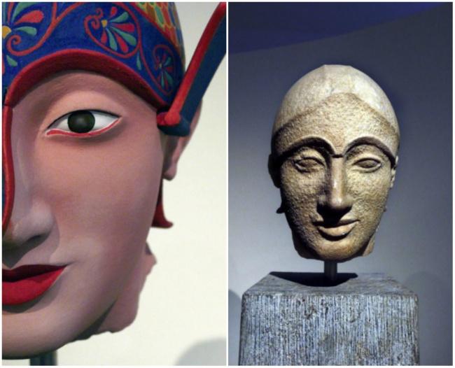 antické sochy (2)