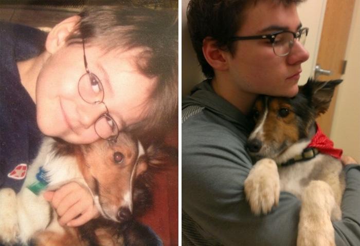 prvé a posledné fotky s domácimi miláčikmi (10)