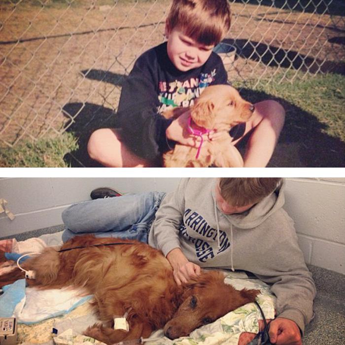 prvé a posledné fotky s domácimi miláčikmi (7)