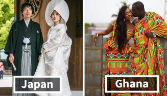 Takto vyzerá tradičné svadobné oblečenie po svete