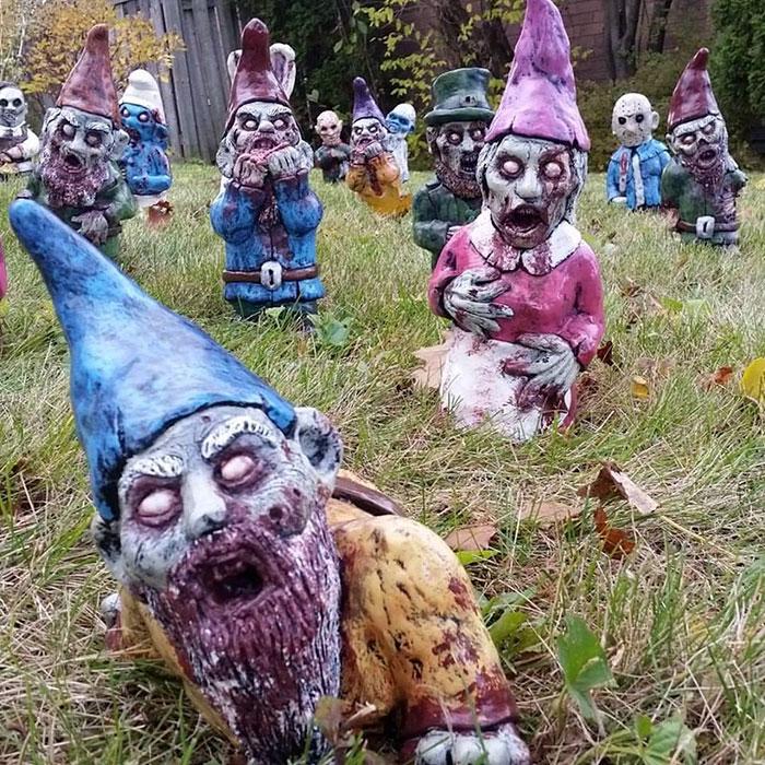 zombie záhradní trpaslíci (3)