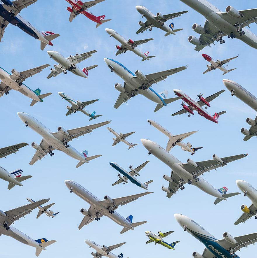 letecká premávka