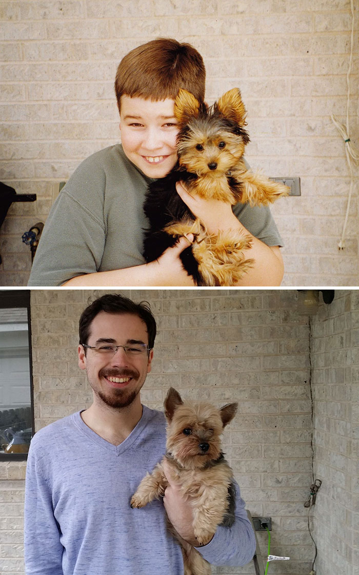psíky vyrastajú