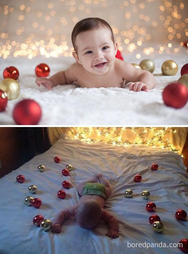 fotky detí na Vianoce