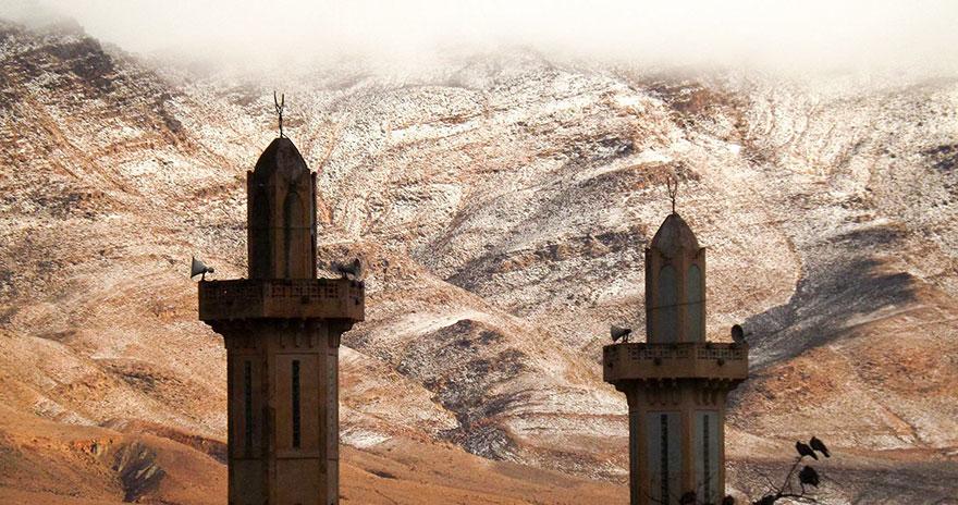 sneh na Sahare