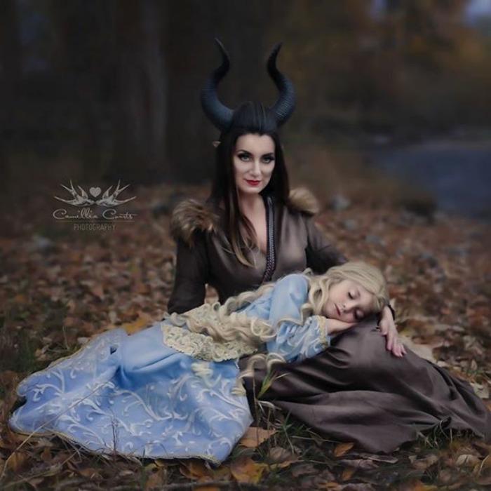 cosplay matka s dcerou (3)