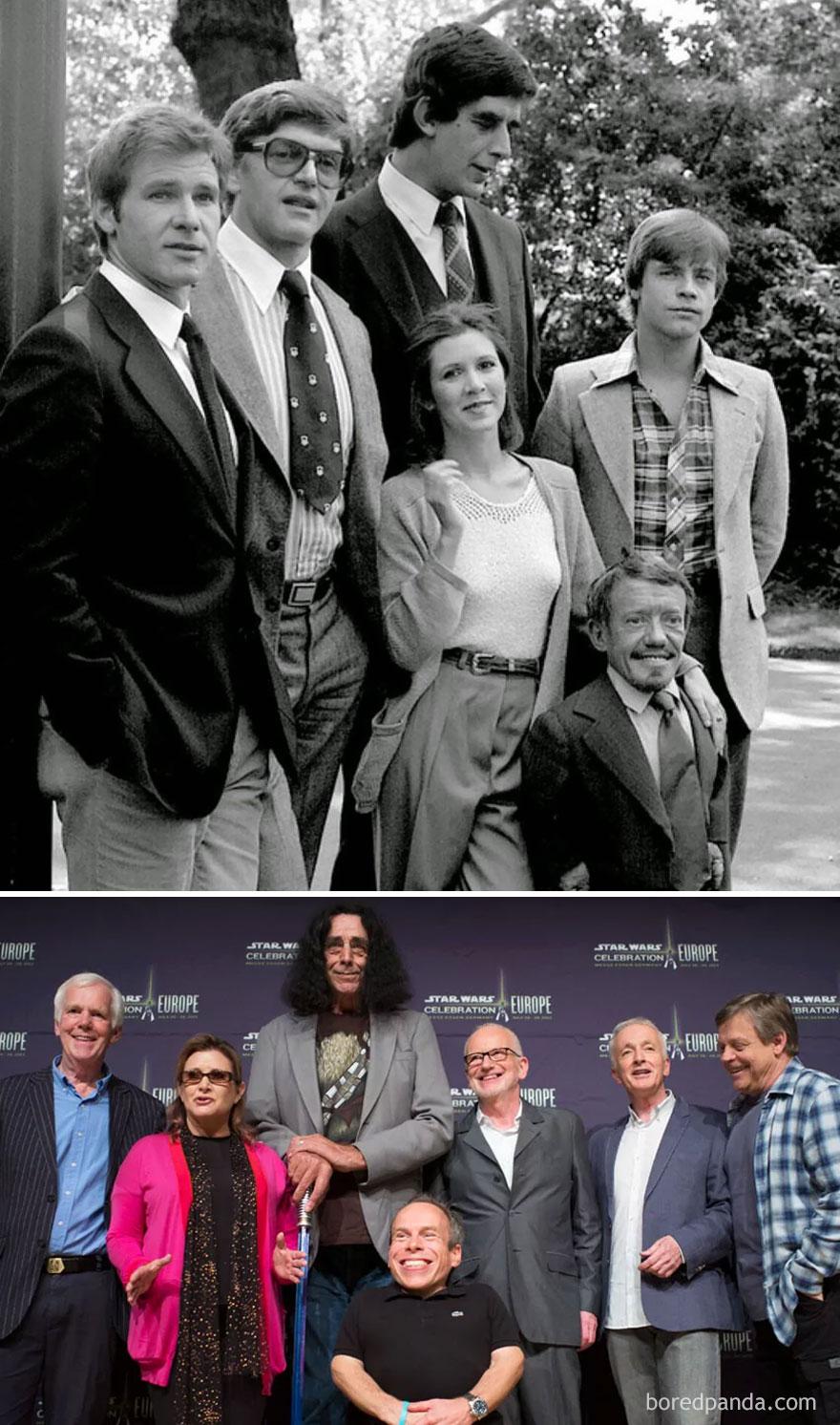 herci zo slavnych serialov niekedy a teraz (9)