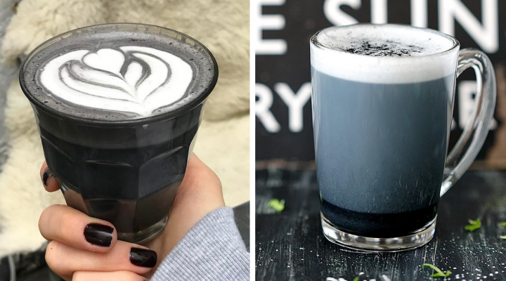 Čierne latté - budúcnosť štýlových káv