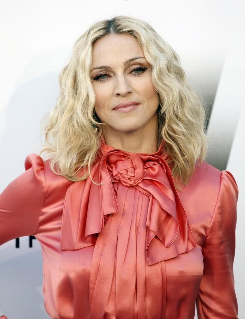 archívna snímka popová speváèka Amerièanka Madonna portrét speváèky charita humanita oslavy pädesiatka 16. august 2008