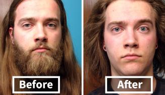 Keď sa muž oholí, akoby to nebol on