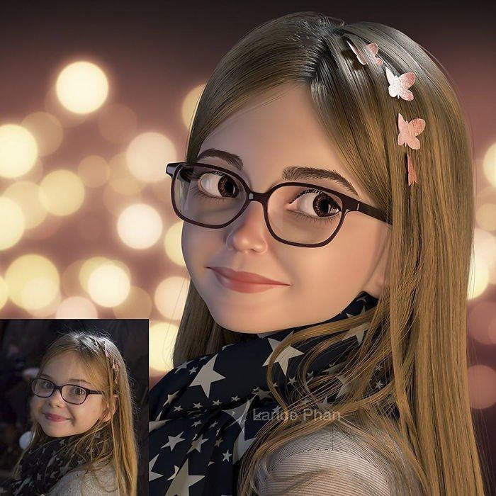 animovany obrazok z portretu (2)