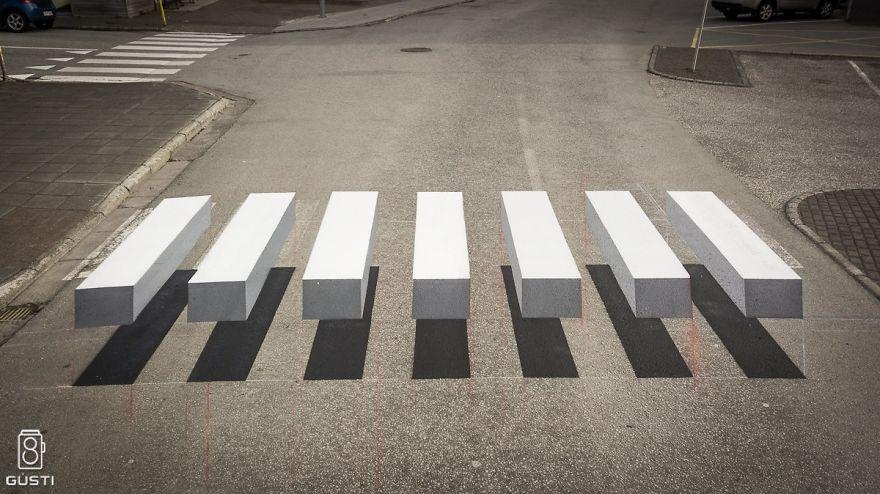 3D prechod pre chodcov