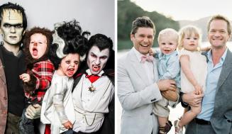Neil Patrick Harris vyhral s rodinou zatiaľ každý Halloween