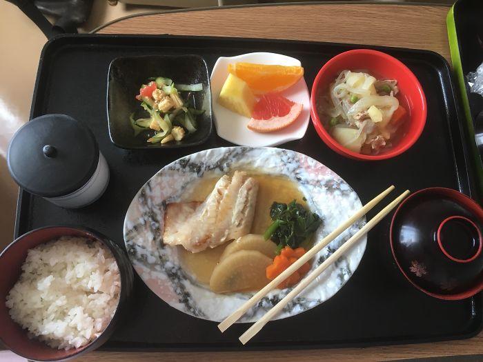 nemocničné jedlo