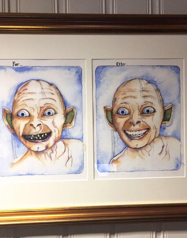 vtipný zubár