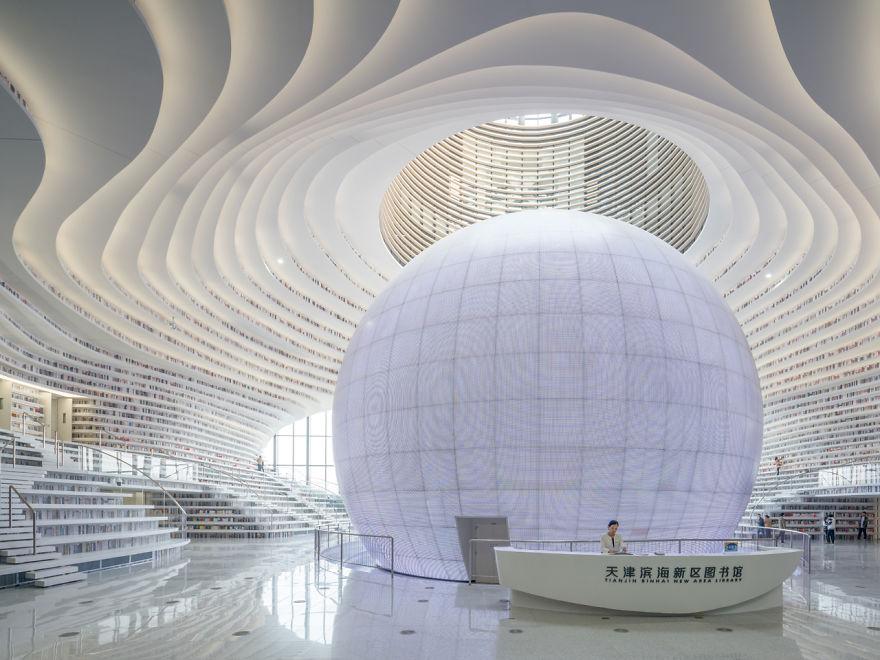 čínska knižnica