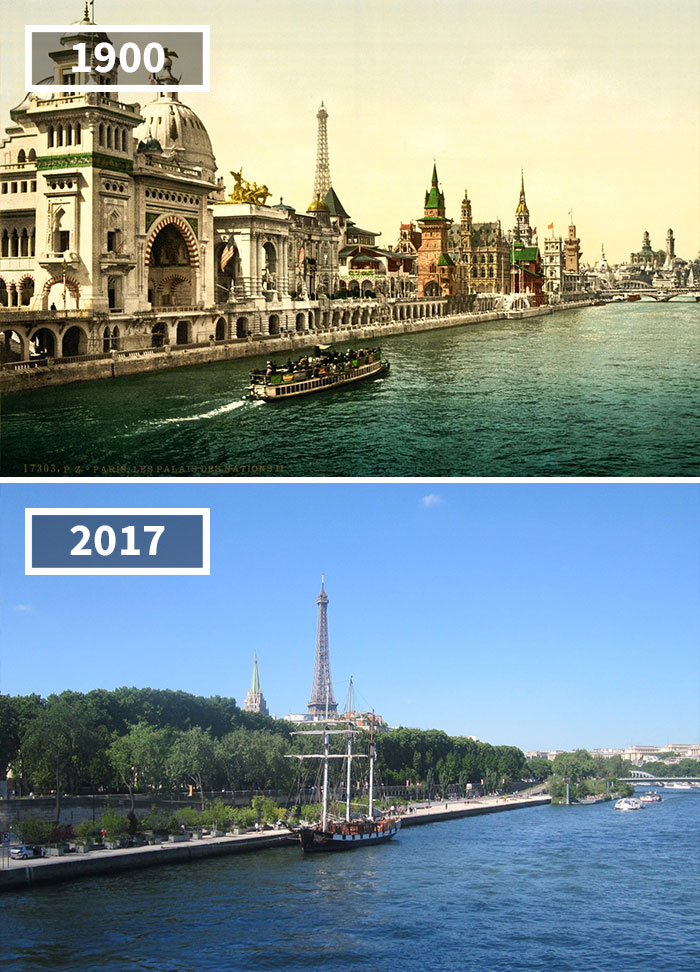 Mestá vtedy a teraz