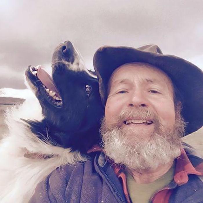 otec selfie