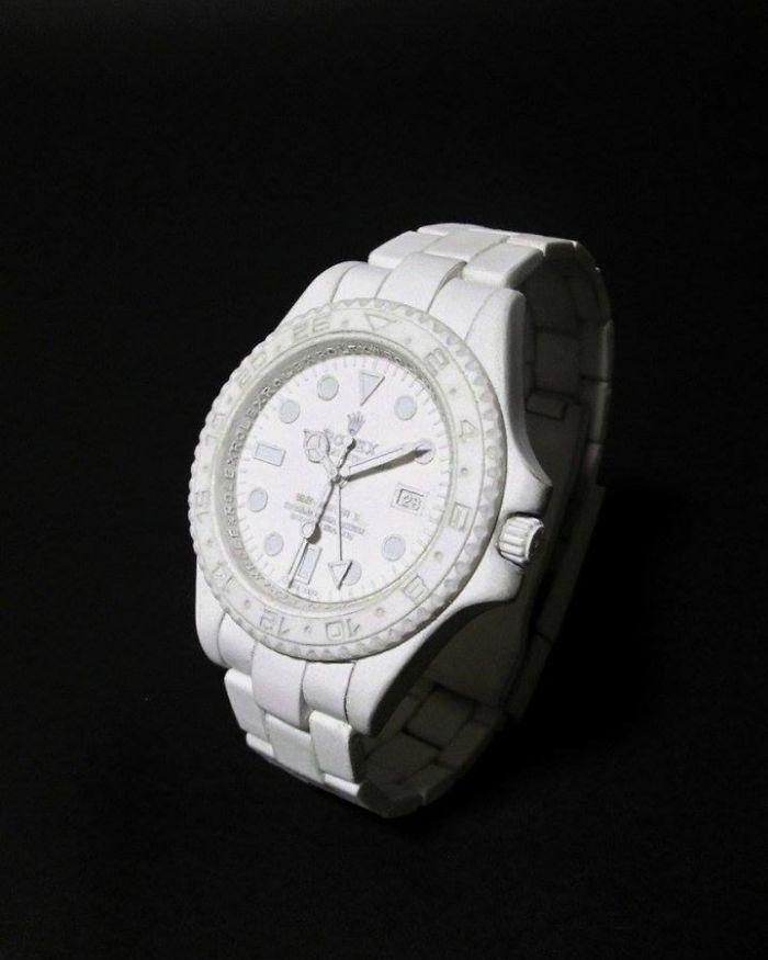 papierové hodinky