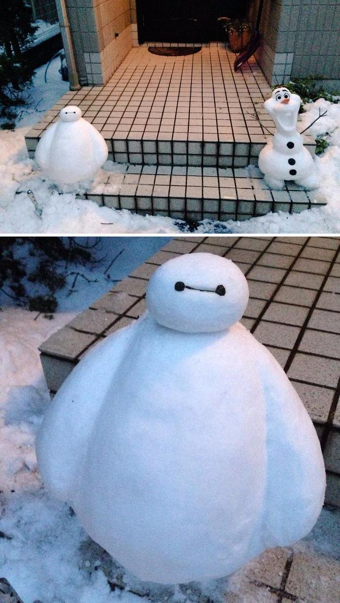 snehuliaci Japonsko