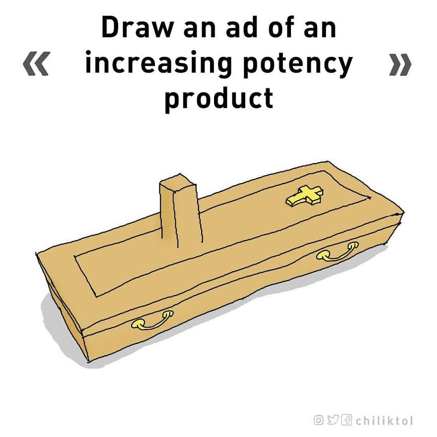 umelec nakreslí všetko