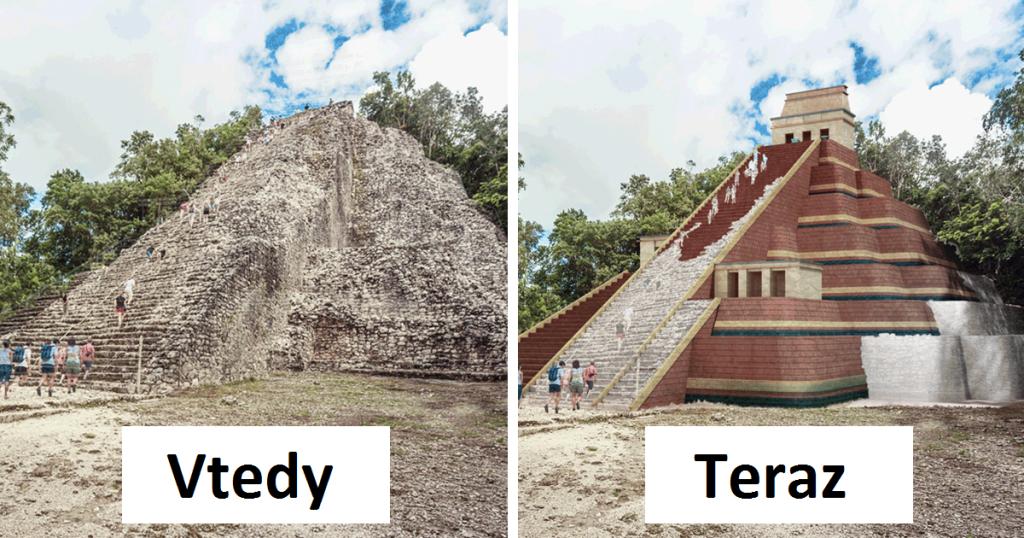 Ako vyzerali starobylé budovy, keď boli nové?