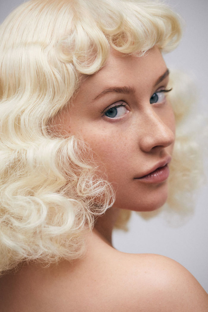 Christina Aguilera bez mejkapu