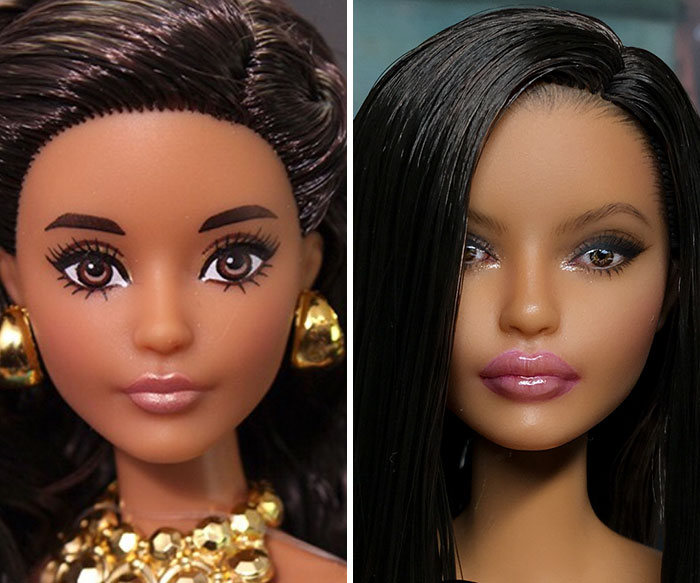 premaľované bábiky