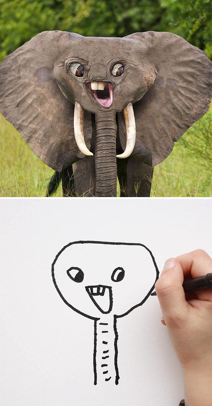 kresby detí