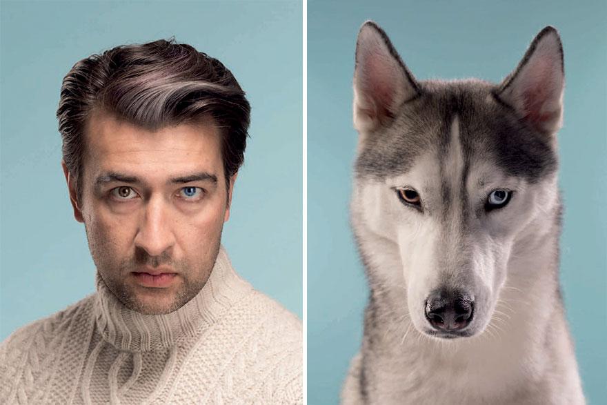 pes a majiteľ