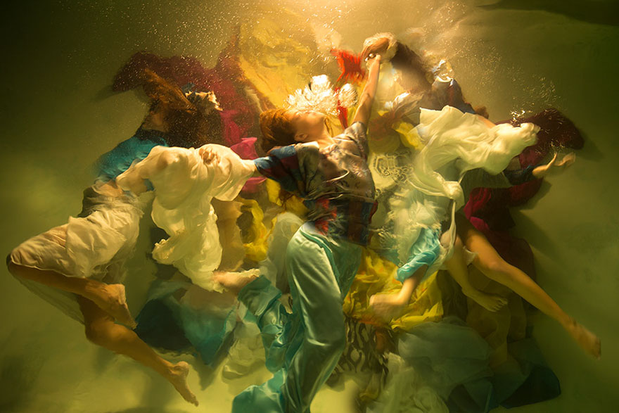 fotky pod vodou