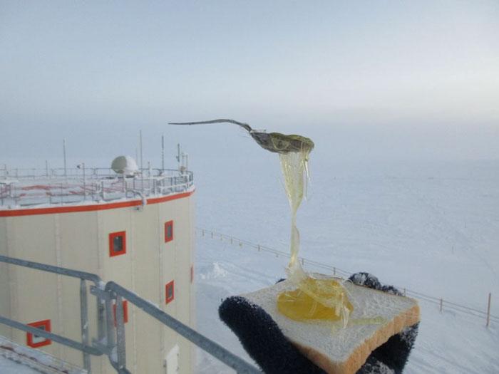 varenie na Antarktíde
